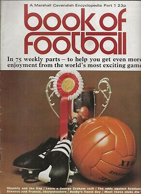 £3.50 • Buy Book Of Football Marshall Cavendish 1971 Part 1 The Clubs: Liverpool