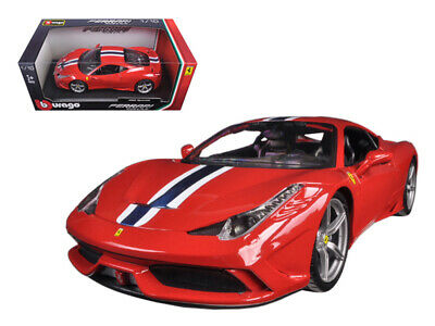 Ferrari 458 Speciale Red 1/18 Diecast Model Car By Bburago • 47.52£