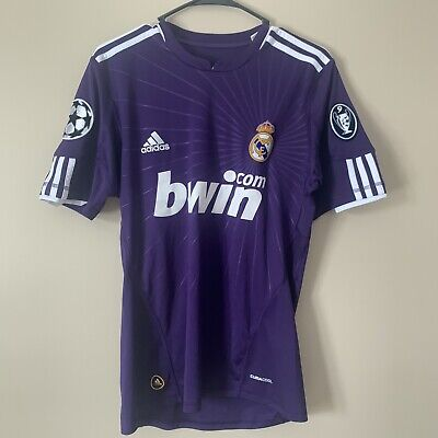 £138.06 • Buy Real Madrid Cristiano Ronaldo Jersey Purple Champions League Patch Size S