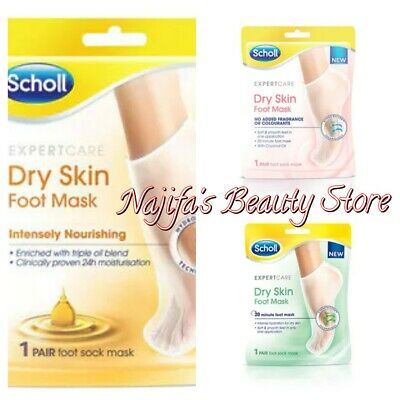 £6.49 • Buy Scholl Expert Care Dry Skin Foot Sock Mask - Choose Your Type Brand New Free P&P