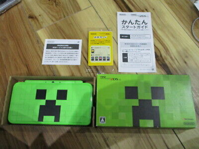 AU203.74 • Buy New Nintendo 2DS LL XL Minecraft Limited Ver. Complete Japanese W263