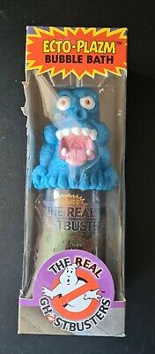 AU149.99 • Buy The Real Ghostbusters- Ecto- Plazm Blue Monster- Slimer Bubble Bath-1989-Vintage