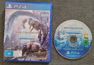 AU65 • Buy Monster Hunter World Iceborne Master Edition PS4  Playstation 4 Free Postage 🎮