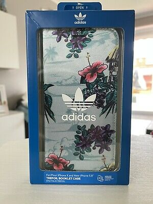 AU25.06 • Buy Adidas Original Trefoil Booklet Flip Case Cover For Apple IPhone X And New 5.8""