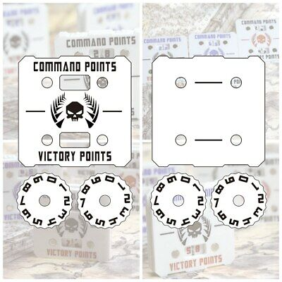 £12.65 • Buy Wargame Base World - Wound Counter/Tracker/Dial/Marker 0-9 Wound Counter - 1
