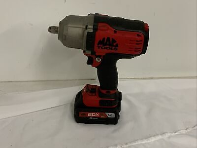 $239.99 • Buy Mac Tools BWP152 1/2  Brushless 3-Speed Impact With One Battery Only