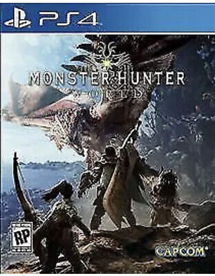 AU23.60 • Buy Monster Hunter World PS4 PlayStation 4