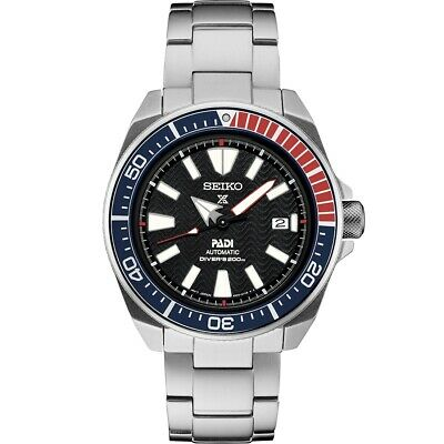 $ CDN438.56 • Buy New Seiko Padi Automatic Prospex Samurai Divers Men's Steel Watch SRPB99