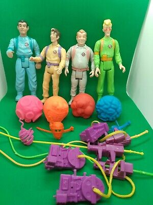 AU78.66 • Buy Ghostbusters Slimed Heroes Lot Peter Egon Winston Ray Accessories RARE RED GHOST