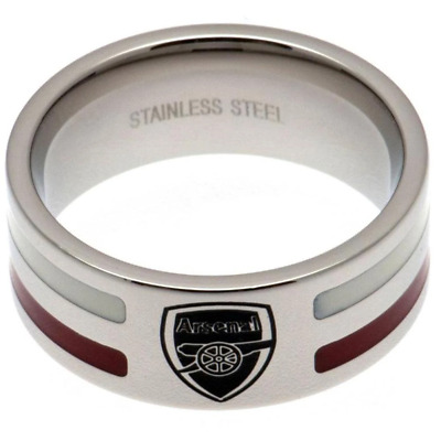£21.20 • Buy Arsenal FC Colour Stripe Ring Small