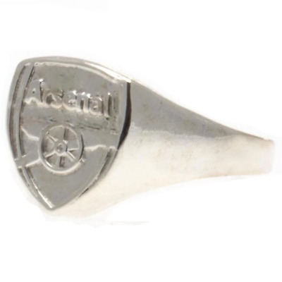 £11.70 • Buy Arsenal FC Silver Plated Crest Ring Large