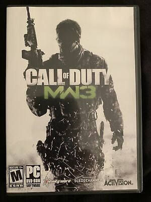 Call Of Duty: Modern Warfare 3 + World Of War - PC Computer Game Lot - Complete • 10.73£