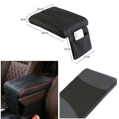 $24.20 • Buy Universal Car Center Console Armrest Box Cover Pad PU Leather Cushion Protector
