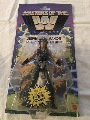 $28 • Buy WWE Masters Of The Universe Stephanie McMahon Wave 6 Mattel Wrestling Figure