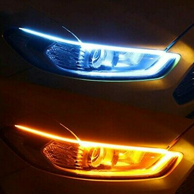 $15.89 • Buy 1pair Car Parts Soft Tube LED Strip Daytime Running Lights Turn Signal Lamps 20W