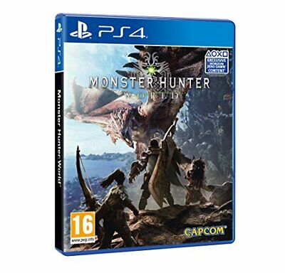 AU26.06 • Buy Monster Hunter World (PS4) (New)
