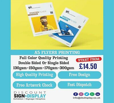 £199 • Buy A5 Flyers Printed Full Colour Flyer Single/Double Sided Pint Your INFORMATION