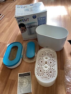 AU28.51 • Buy Philips Avent 3-in-1 Electric Steam Steriliser Used