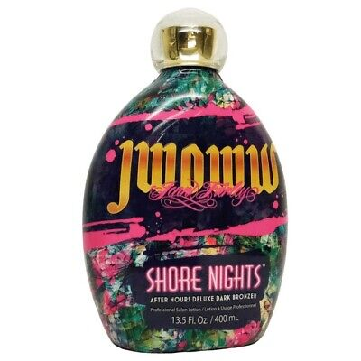 $ CDN54.41 • Buy JWOWW SHORE NIGHTS After Hours Deluxe Bronzer Tanning Lotion 13.5oz