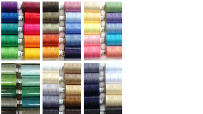 £9.89 • Buy Coats Moon Sewing Machine Polyester Thread Cotton Mixed Colours