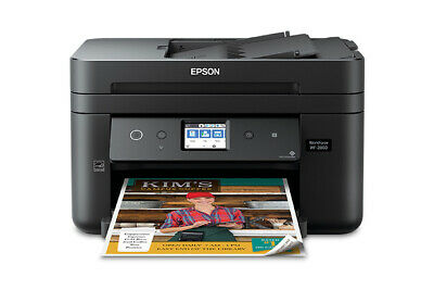 View Details Epson Workforce WF-2860 All-in-One Wireless Color Printer, Scanner, Copier, Fax • 89.99$