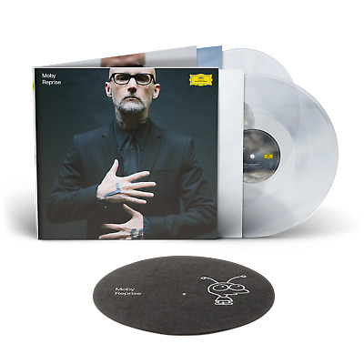 £52 • Buy Moby - Reprise. Deluxe Crystal Clear 2lp + Little Idiot Slipmat. New & Sealed