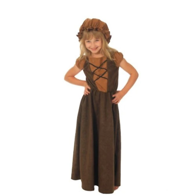 £10.27 • Buy Girls Little Nell Victorian Outfit [Required Childrens Size : Small (6-8 Yrs) 12