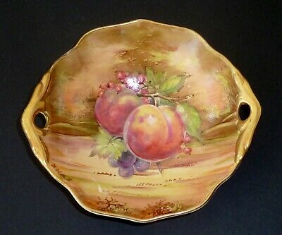 $ CDN42.20 • Buy Vintage Hand Painted SIGNED Grimwades ROYAL WINTON Dish Bowl FRUIT Sim. Aynsley