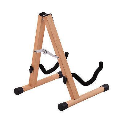 $ CDN39.61 • Buy Portable Wood Guitar Stand Solid Wood Folding A-shaped Guitar Stand For B1R9