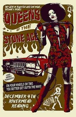 £9.99 • Buy Queens Of The Stone Age Rock Band Music Poster Print T1525