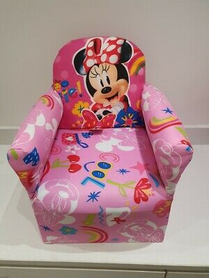 £32.99 • Buy Children's Minnie Mouse Character Good Quality Kids Arm Chair Seat Brand New