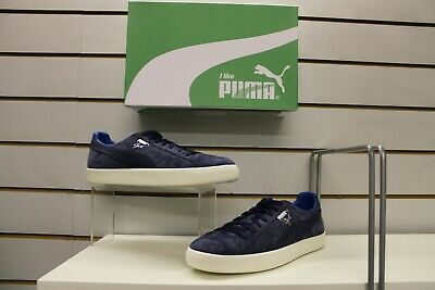 Men's Puma Clyde Normcore Retro Trainers In Peacoat Blue UK 10.5 EU 45 • 29.99£