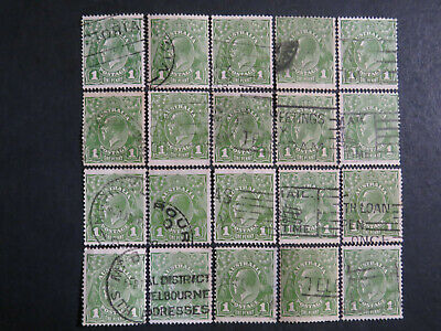 AU0.99 • Buy KGV Heads 1d Green Selection - 1 Page