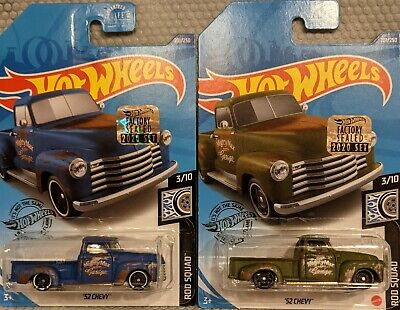AU5.08 • Buy 2020 Hot Wheels HWC RLC FACTORY SEALED '52 CHEVY PICKUP TRUCK - Set Of 2