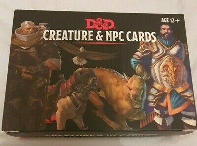 AU14.26 • Buy Dungeons And Dragons 5th Edition Creature & NPC Cards