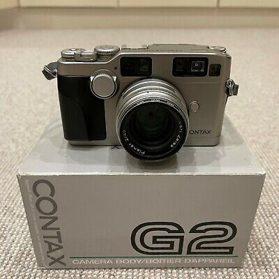 $ CDN2763.56 • Buy Contax G2 35mm Rangefinder + 45mm Carl Zeiss Planar F2 T* Lens