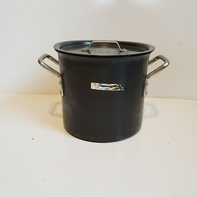 $ CDN74.98 • Buy Calphalon Commercial Aluminum Cookware 8 Qt Stock Pot 808 With Lid Anodized USA
