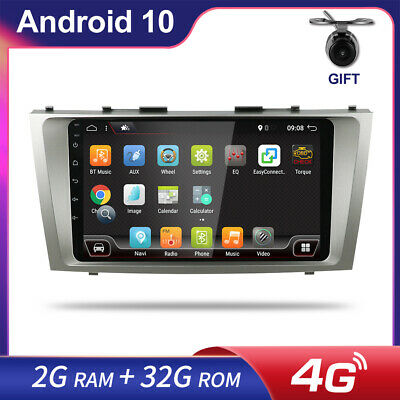 AU252.89 • Buy 9'' Android 10 For Toyota Camry 2007-2011 Car Stereo Radio GPS NAVI Head Unit BT