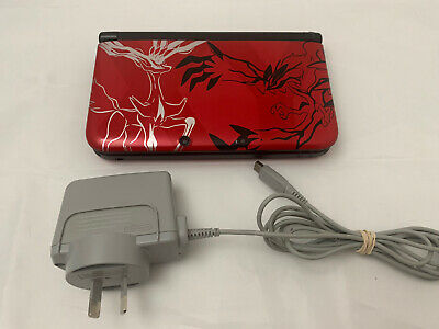 AU229 • Buy Nintendo 3DS XL Pokemon Y Red Limited Edition Console