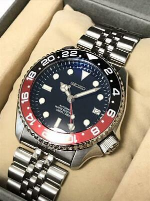 $ CDN3584.15 • Buy Seiko Diver Modified SKX007K2 NH35 GMT Automatic Mens Watch Authentic Working