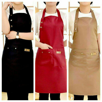 $8.32 • Buy Chef Apron Kitchen Waterproof Pocket Catering Cooking Butcher Baking Craft