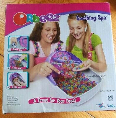 AU46.77 • Buy Orbeez Soothing Spa Foot Spa New Sealed By Maya Group (Small Box Damaged )