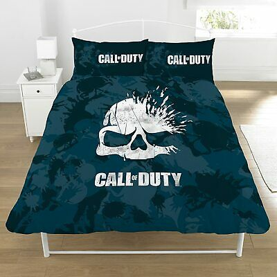 £27.99 • Buy Call Of Duty Double Duvet Cover Reversible  Bedding Set Ideal Gamers Gift