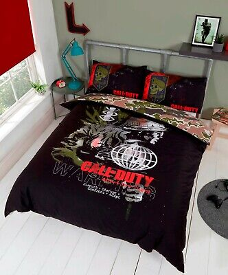 £27.99 • Buy Call Of Duty Double Duvet Cover Reversible Bedding Set Cold War Ideal Gift