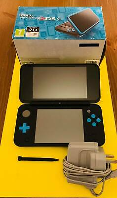 AU266.72 • Buy Nintendo 2ds Xl Handheld Console Boxed Black & Turquoise Great Condition