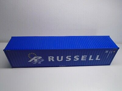 AU1.76 • Buy CORGI 1/50 SCALE 40ft. SHIPPING CONTAINER RUSSELL LIVERY