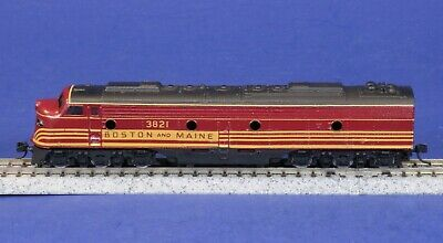 AU25.85 • Buy Atlas N Scale B&M Boston & Maine Unpowered Dummy Diesel Engine 3821