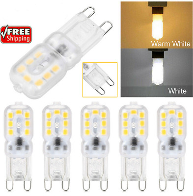 AU6.29 • Buy G9 LED 3W Dimmable Capsule Bulb Replace Halogen Light Lamps AC220-240V Warm/Cool