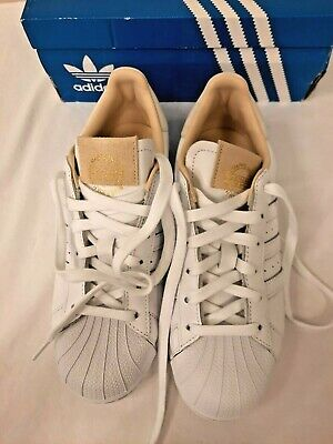 $ CDN51.86 • Buy Adidas Superstar 1 White Crystal UK Size 6 New In Box