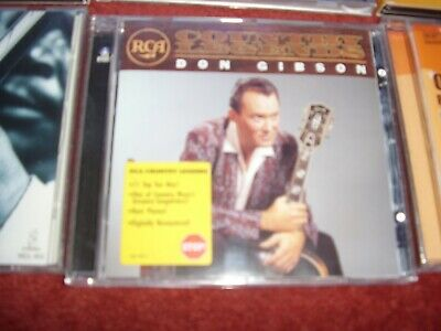 £6.99 • Buy Don Gibson - RCA Country Legends (CD 2001) [Buddha Records]
